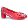 Judy Red Sequin Adult Shoes